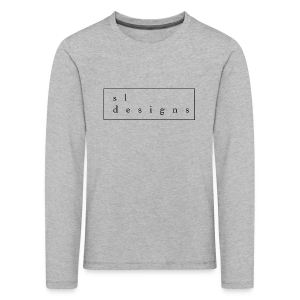 sldesigns Collection - Premium langermet T-skjorte for barn
