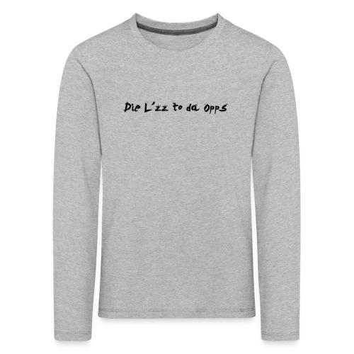 DieL - Børne premium T-shirt med lange ærmer