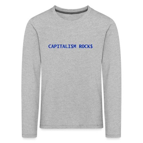 CAPITALISM ROCKS - Maglietta Premium a manica lunga per bambini