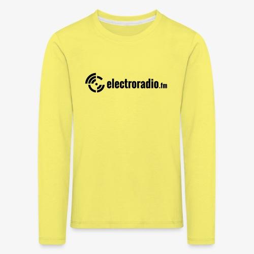 electroradio.fm - Kinder Premium Langarmshirt