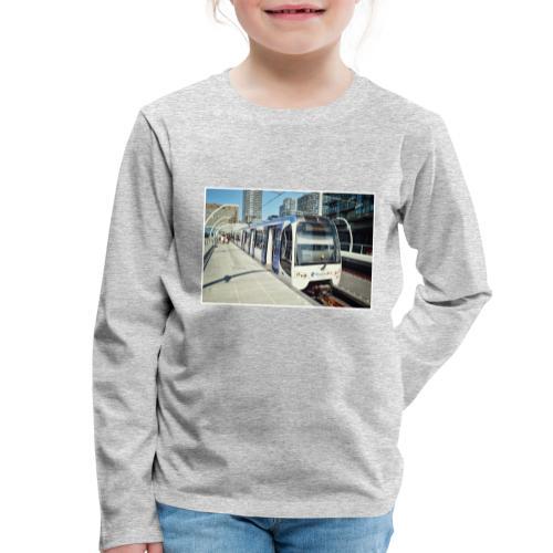 Randstadrail in Den Haag - Kinderen Premium shirt met lange mouwen