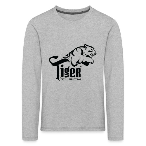 TIGER ZURICH digitaltransfer - Kinder Premium Langarmshirt