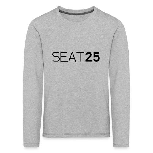 Seat25 Logo Dark - Kids' Premium Longsleeve Shirt