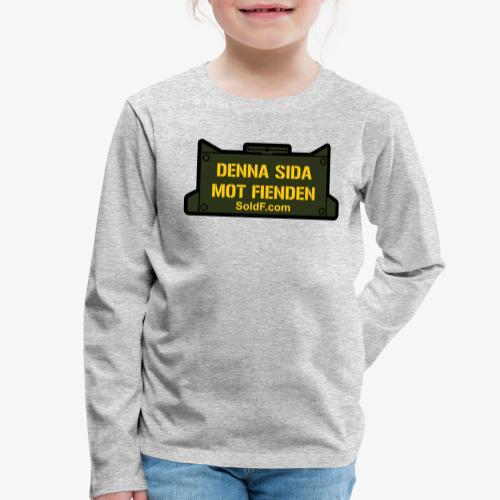 DENNA SIDA MOT FIENDEN - Mina - Långärmad premium-T-shirt barn