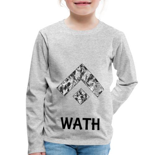 Diseño nombrado - Camiseta de manga larga premium niño