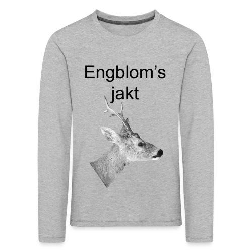 Officiell logo by Engbloms jakt - Långärmad premium-T-shirt barn