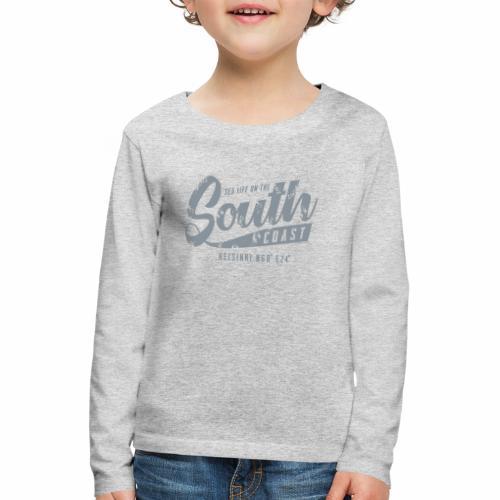 ETELÄRANNIKKO, SOUTH COAST HELSINKI COOL T-SHIRTS - Lasten premium pitkähihainen t-paita