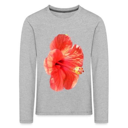 A red flower - Kids' Premium Longsleeve Shirt