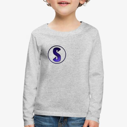 YouTube Logo von Salxphaa - Kinder Premium Langarmshirt