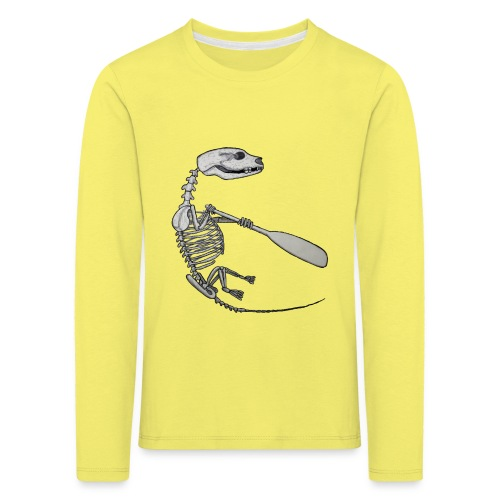 Skeleton Quentin - Kids' Premium Longsleeve Shirt