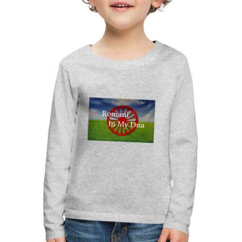 flagromaniinmydna - Långärmad premium-T-shirt barn