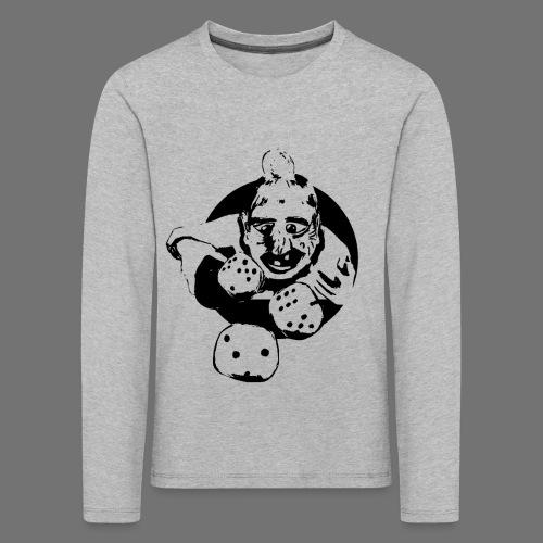 Professional Gambler (1c musta) - Lasten premium pitkähihainen t-paita