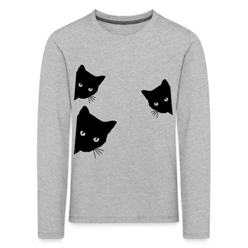 Vorschau: cats - Kinder Premium Langarmshirt