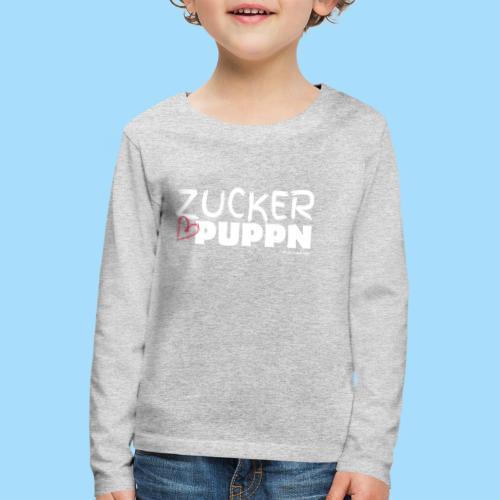 Zuckerpuppn - Kinder Premium Langarmshirt