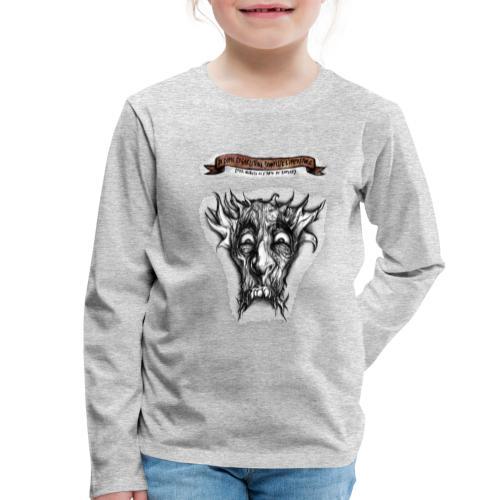 T-shirt del Dio Diaforo Tossidoille - Maglietta Premium a manica lunga per bambini
