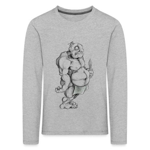 Big man - Kinder Premium Langarmshirt