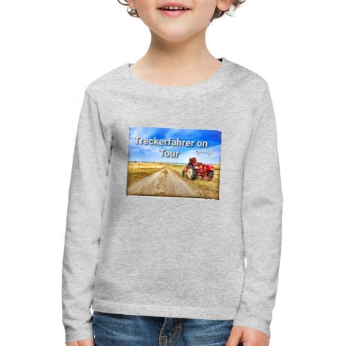 Treckerfahrer on Tour - Kinder Premium Langarmshirt