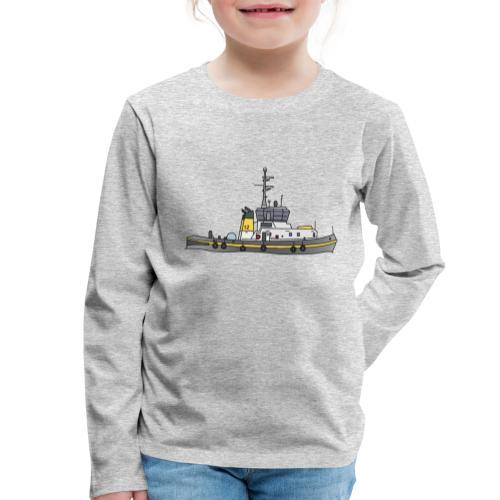 Schlepper Schleppschiff c - Kinder Premium Langarmshirt