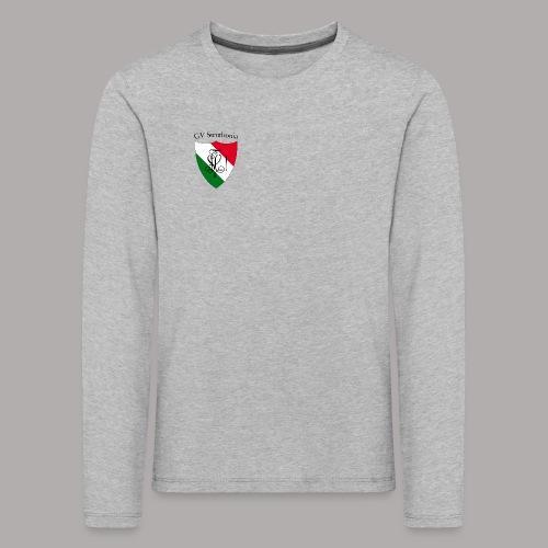 Wappen Struthonia (vorne) - Kinder Premium Langarmshirt