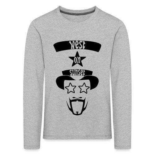 westonsunset_head - Kids' Premium Longsleeve Shirt