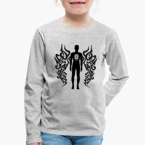 Houseology Original - Angel of Music (INVERSE) - Kids' Premium Longsleeve Shirt