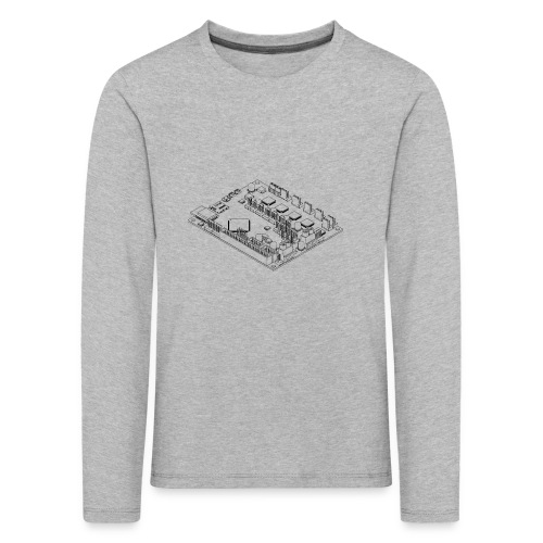 DuetWiFi (no text). - Kids' Premium Longsleeve Shirt