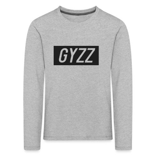 Gyzz - Børne premium T-shirt med lange ærmer