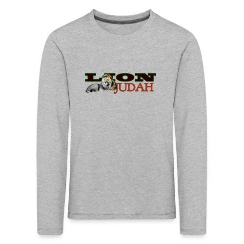 Tribal Judah Gears - Kids' Premium Longsleeve Shirt