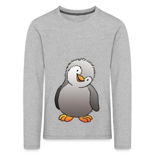Pinguin Felix - Kinder Premium Langarmshirt