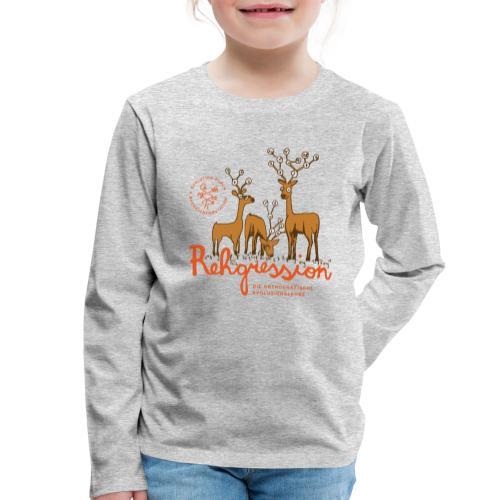 Rehgression - Kinder Premium Langarmshirt