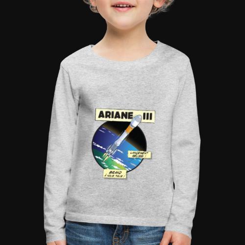 Ariane 3 - Space Objective - Kids' Premium Longsleeve Shirt