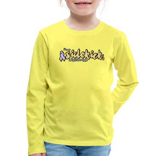 I'm a sidekick - Kids' Premium Longsleeve Shirt