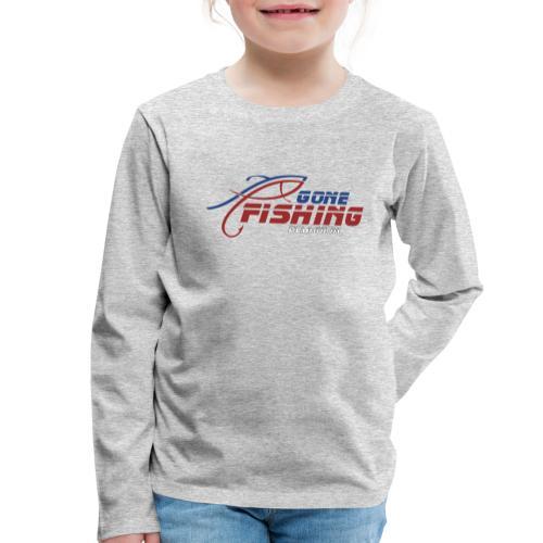 GONE-FISHING (2022) DEEPSEA/LAKE BOAT COLLECTION - Kids' Premium Longsleeve Shirt