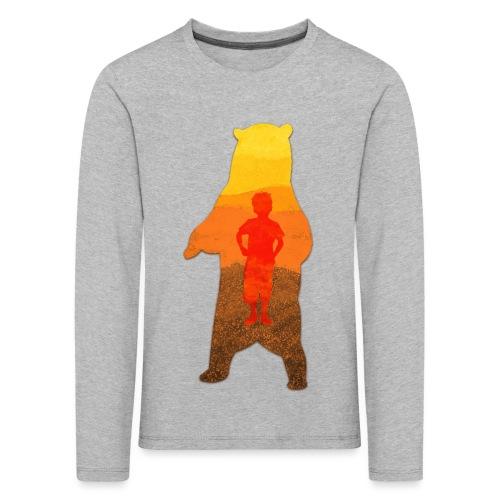 De Berenjongen - Kinderen Premium shirt met lange mouwen