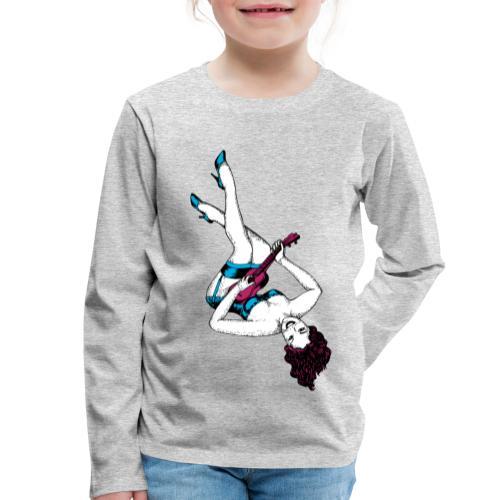 Women11 - Kinder Premium Langarmshirt