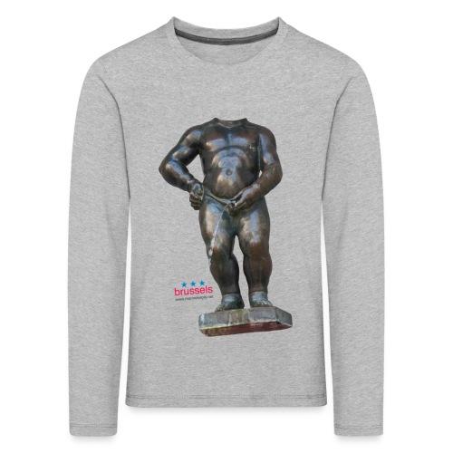 mannekenpis Real Big ♀♂ | 撒尿小童 - T-shirt manches longues Premium Enfant