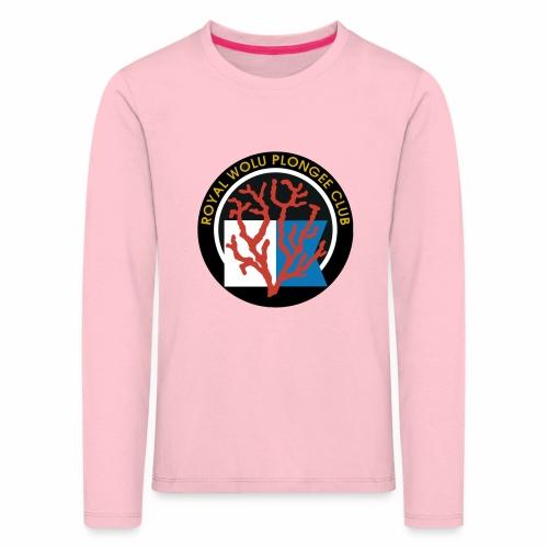 Royal Wolu Plongée Club - T-shirt manches longues Premium Enfant