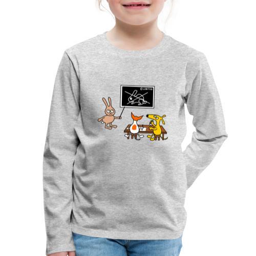 Hundeschule - Kinder Premium Langarmshirt