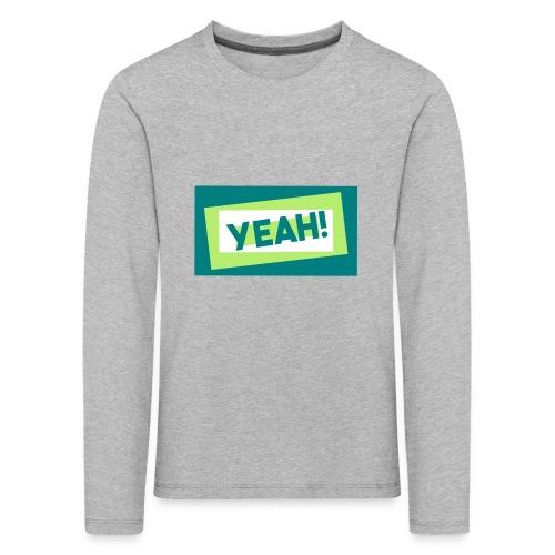 Teddy.Kidswear. – Yeah! - Kinder Premium Langarmshirt