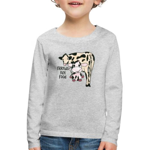 Friends not food - Kids' Premium Longsleeve Shirt