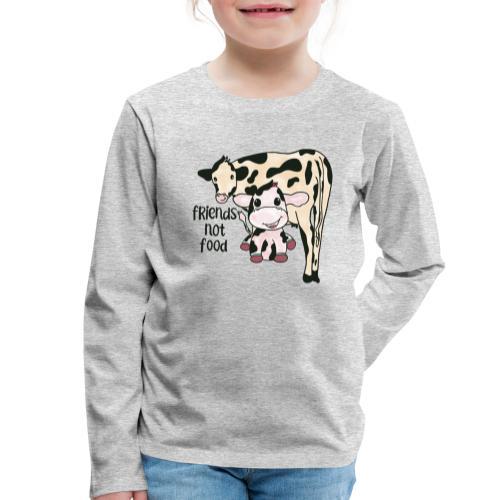 Friends not food - Kids' Premium Longsleeve Shirt