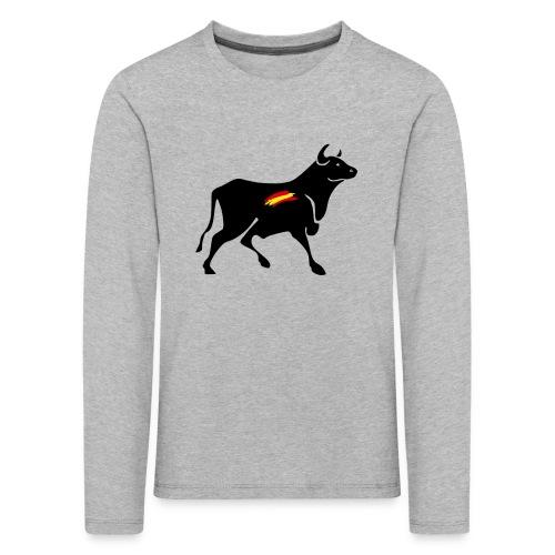 toro español - Camiseta de manga larga premium niño