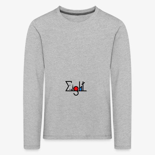 EIGHT LOGO - T-shirt manches longues Premium Enfant