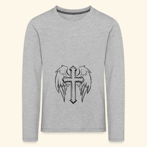 Faith and love - Kids' Premium Longsleeve Shirt