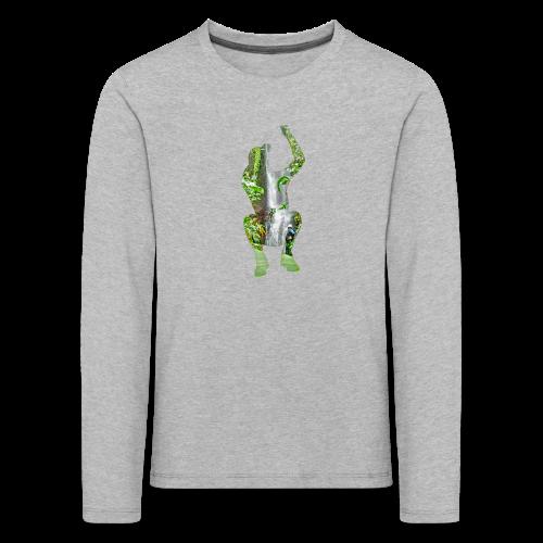 Jump into Adventure - Kinder Premium Langarmshirt