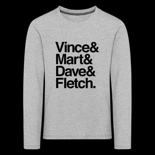 DM Depech Mode Original Lineup - Långärmad premium-T-shirt barn