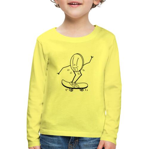 thing skate - Kids' Premium Longsleeve Shirt