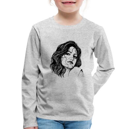 Junge Frau - Kinder Premium Langarmshirt