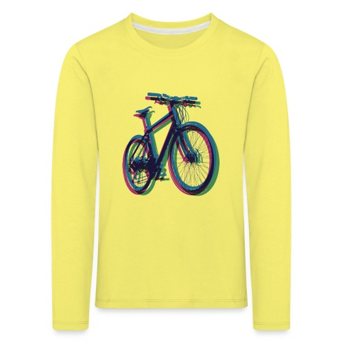 Bike Fahrrad bicycle Outdoor Fun Mountainbike - Kids' Premium Longsleeve Shirt