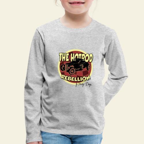 hotrod rebellion - Børne premium T-shirt med lange ærmer